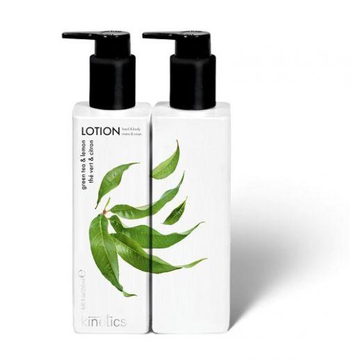 Kinetics Green Tea & Lemon Lotion  (Roku un ķermeņa losjons)