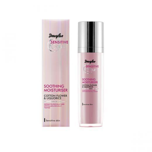 Douglas Focus Sensitive Soothing Moisturiser 50 ml  (Nomierinošs un mitrinošs fluīds sejai)